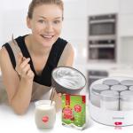 SEVERIN – מכשיר ביתי להכנת ביו-יוגורט טבעי ללא לקטוז וללא סוכר!