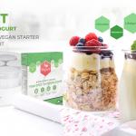 SEVERIN – מכשיר ביתי להכנת VEGURT יוגורט טבעוני על בסיס צמחי + תרבית VEGURT